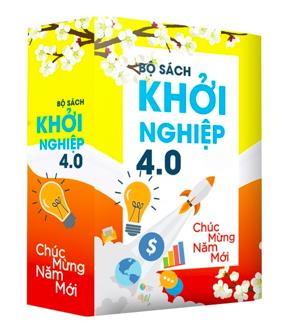 """BỘ SÁCH """"KHỞI NGHIỆP 4.0"""" - QUÀ TẶNG NĂM MỚI"""