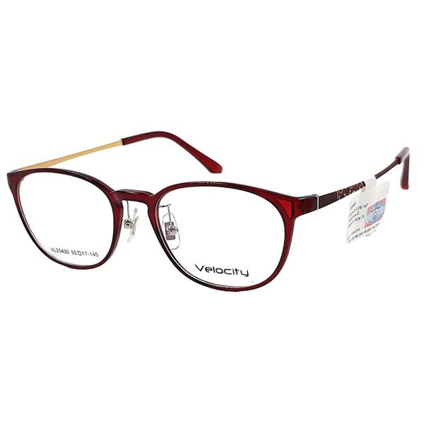 Gọng kính VELOCITY màu đỏ hồng VL25400 C03