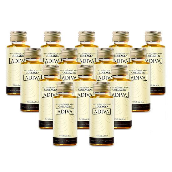 Nước uống đẹp da Adiva Collagen 14 lọ x 30ml
