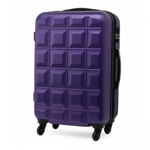 Vali nhựa cao cấp Eddas 2O Inch - Purple - EA108-PURPLE