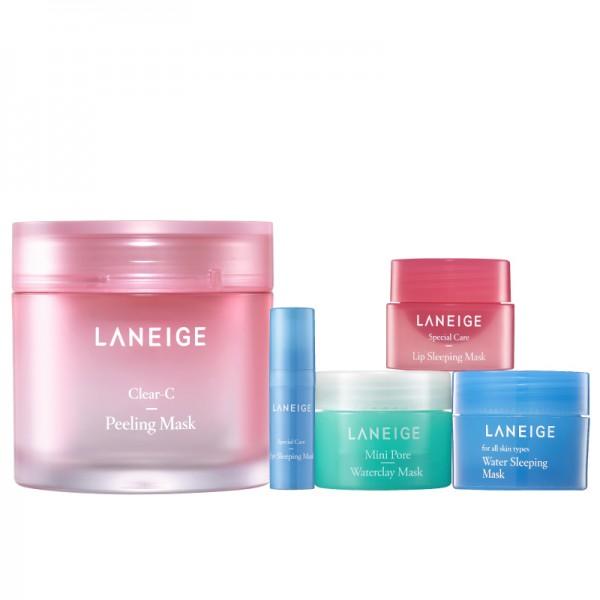 Combo Top 5 mặt nạ yêu thích Laneige Mask Collection