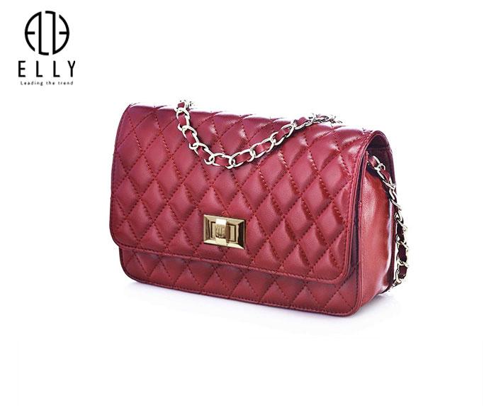 Túi xách nữ thời trang cao cấp ELLY – EL95 đỏ