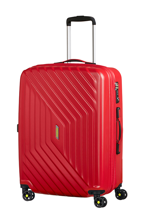 Vali American Tourister DI0*70002 Air Force+ Spinner 69/25 Exp TSA - Flame Red