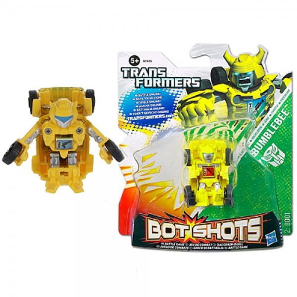 Đồ Chơi Robot Transformer Mini Bot Shots - Bumblebee Box