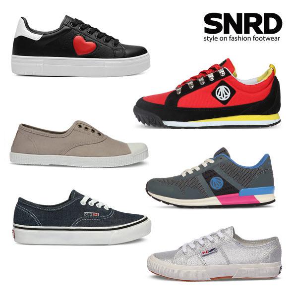 Bộ sưu tập giày thể thao SNRD&Paperplanes thời trang