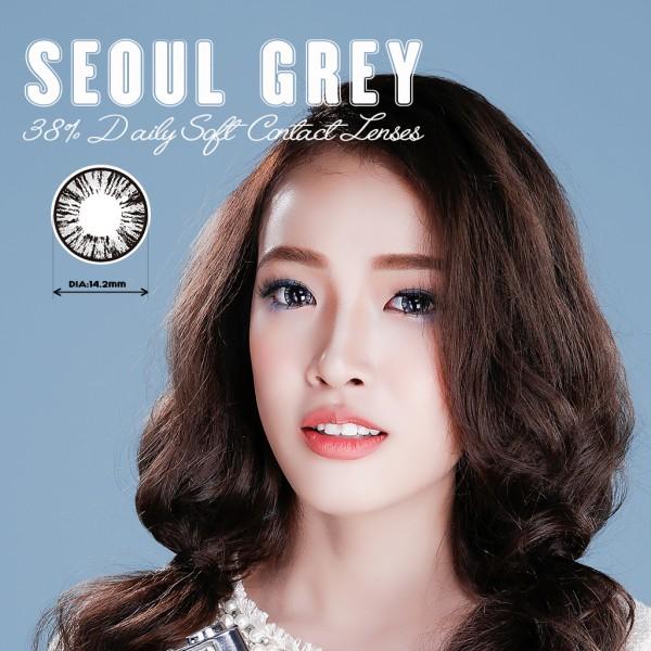 Kính áp tròng dùng 1 ngày Eye Secret màu Seoul Grey
