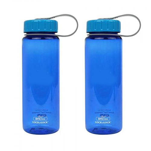 Set 2 bình đựng nước chia vạch Lock&Lock EnsureGold 500ml ABF613B