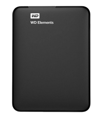 Ổ Cứng Di Động WD Elements 1TB 2.5 USB 3.0 - WDBUZG0010BBK