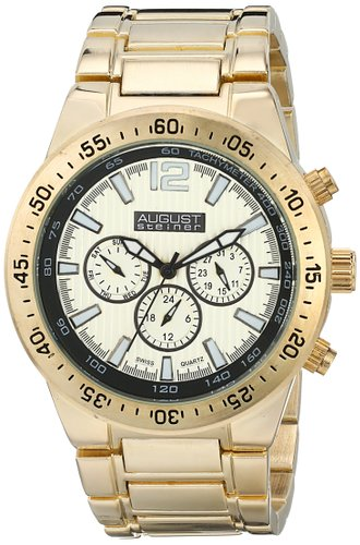 Đồng hồ August Steiner Men's AS8128YG Analog Display Swiss Quartz