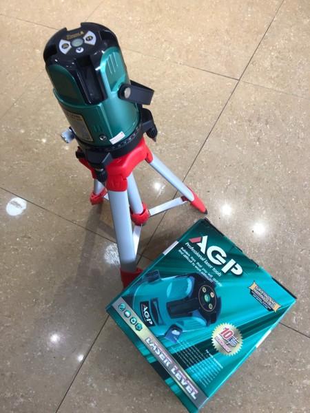 Máy cân mực bằng tia Laser AGP + chân