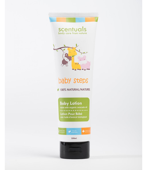 Sữa dưỡng thể cho bé - BABY COLLECTION/BABY STEPS/Baby lotion 250ml