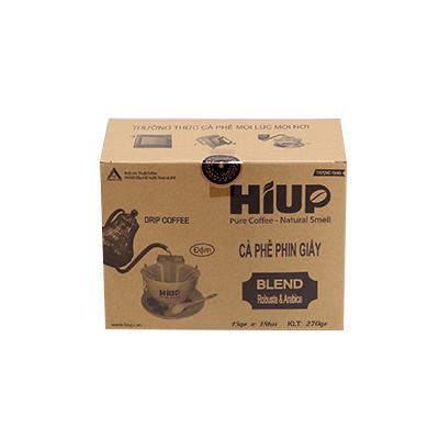Cà Phê Phin Giấy Hiup Coffee - Hộp 18túi x 15g