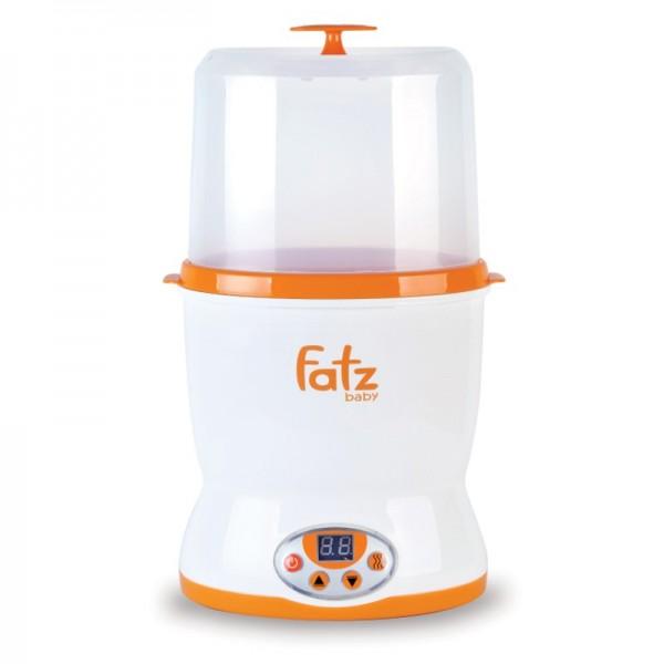 Máy hâm sữa 2 bình cổ rộng đa năng cao cấp FATZBABY FB3018SL