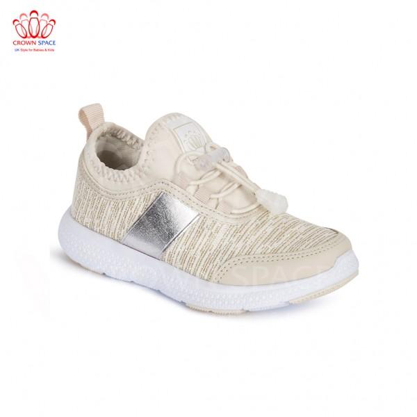 Giày thể thao cho bé Crown UK Sport Shoes CRUK8023.18 màu be