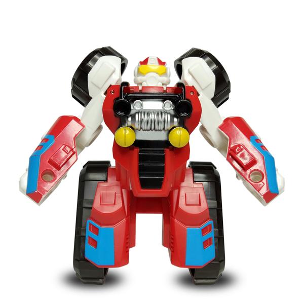 Đồ Chơi Robot Biến Hình Xe Đua KSL675-9 Đỏ