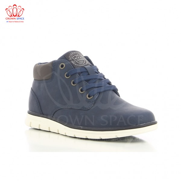 Giày cao cổ bé trai SPROX Lace Booties C293142 màu Xanh navy