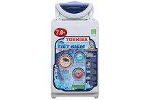 Máy giặt cửa trên 7 kg Toshiba AW-A800SV(WB)