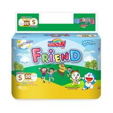 Bỉm - Tã quần Goo.N New Friend size S 30 miếng (Cho bé 4 - 8kg)