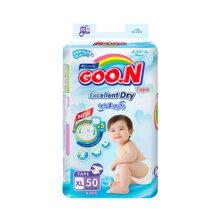 Bỉm - Tã dán Goo.N Renew Slim size XL 50 miếng (Cho bé 12 - 20kg)