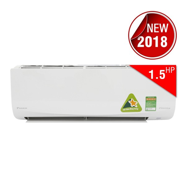 Máy Lạnh Inverter Daikin FTKQ35SAVMV/RKQ35SAVMV (1.5HP)