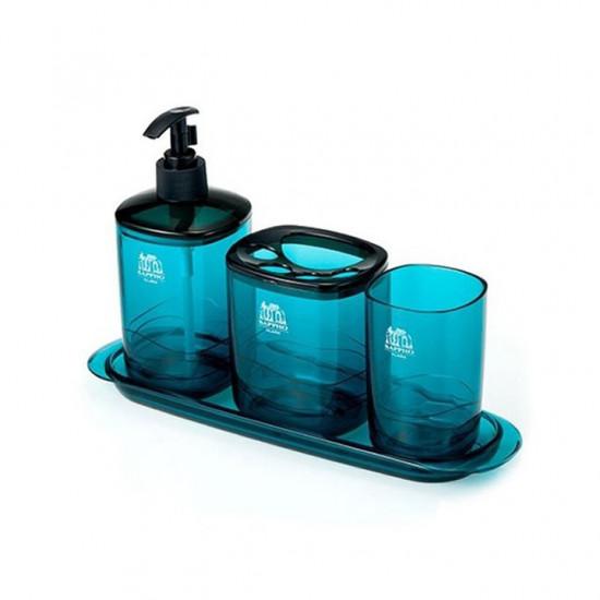 Bộ Phòng Tắm Cao Cấp Lock&Lock Sappho Clara LBW130GS Blue