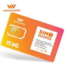 [Miễn Phí 6 Tháng] Sim Data 10GB/Ngày - 300 GB/Tháng Độc Quyền VIETNAMOBILE - SHOPEE