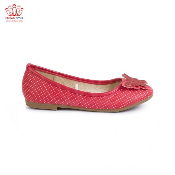 Giày búp bê bé gái Crown UK Girl Ballerina CRUK388
