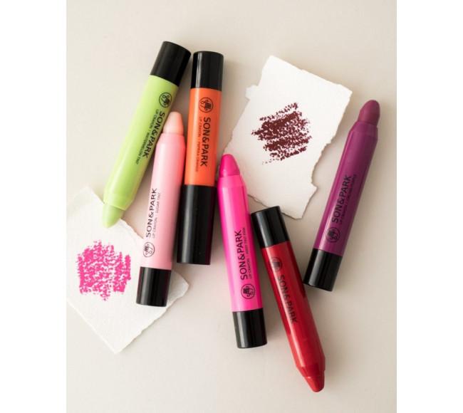 Son Lì Dạng Bút Chì SON&PARK Maple balm 15 2.7g lip crayon maple balm