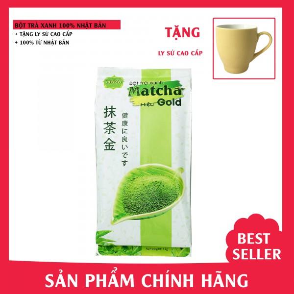 Bột trà xanh Matcha Gold Nhật Bản - túi 1kg