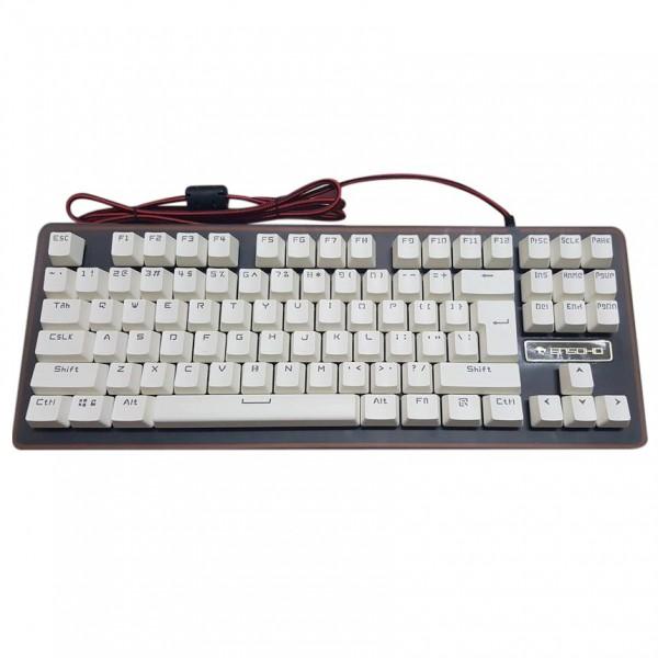 Bàn phím cơ có dây ENSOHO E-GL132K (switch Gaote)