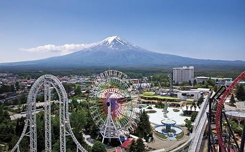 Vé Tham Quan Công Viên Giải Trí Fuji-Q Highland