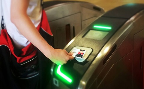 Thẻ Tàu Điện EZ Link Singapore