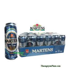Bia Martens Extra 7 Pilsner lon cao – thùng 24 lon x 500ml