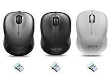 Chuột máy tính DELUX DLM-131GB
