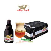 Bia Gulden Draak 9000 Quadruple 330ml – Thùng 24 chai