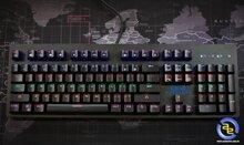 Bàn phím cơ Eblue Mazer EKM757 Blue switch