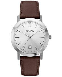 Đồng hồ Bulova 96B217 dây da lịch lãm dành cho nam