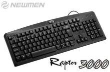 Bàn phím NEWMEN Raptor 3000(E360) CHỐNG BỤI CHỐNG NƯỚC