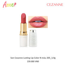Son Cezanne Lasting Lip Color N màu 206_3,9g
