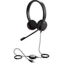 Tai nghe đàm thoại, nghe nhạc Jabra Evolve 20 MS stereo chuẩn USB, 2 tai (Không Box)