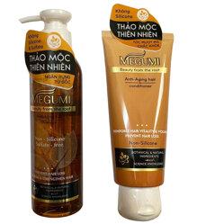 Bộ dầu gội Megumi hỗ trợ ngăn ngừa tóc rụng và mọc tóc