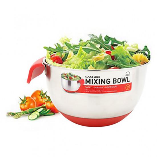 Tô Trộn Inox Lock&Lock Mixing Bowl 20cm MIX-1202