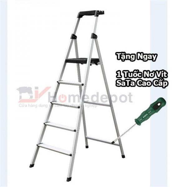 Thang nhôm ghế DIY TLP-05