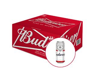 Budweiser thùng 12 lon 500ml