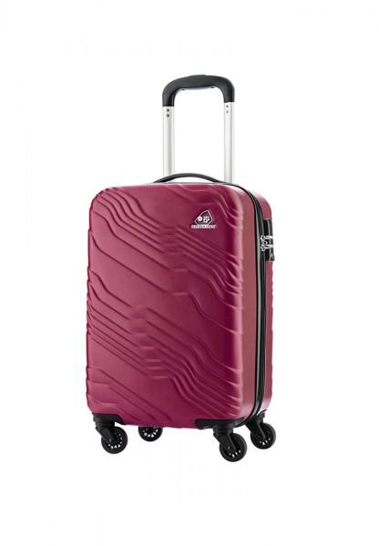 Vali nhựa Kamiliant AQ8*70005 Kanyon TSA - Size Cabin 55/20 - Màu Đỏ