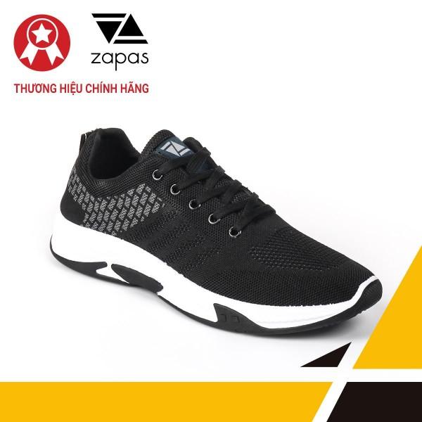 Giày Nam Đẹp Thể Thao Sneaker Thời Trang Zapas - GS103 (Đen)