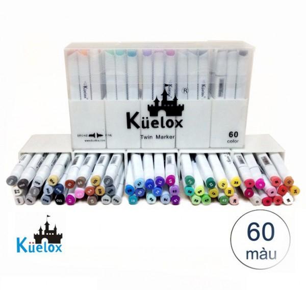 Bút Marker Fine Colour Kuelox Set 60 Màu