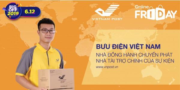 Vietnam Post đồng hành cùng Online Friday 2019 đưa sản phẩm đến tận tay người tiêu dùng