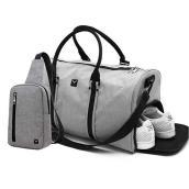 Combo Túi du lịch Laza TX367 và Túi đeo chéo TX361 Xám