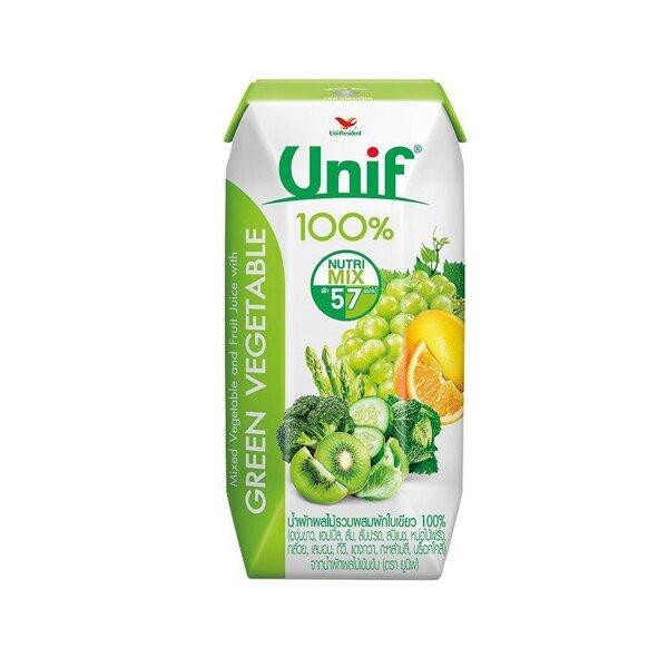 Nước Ép Trái Cây & Rau Xanh UNIF - Hộp 200ml